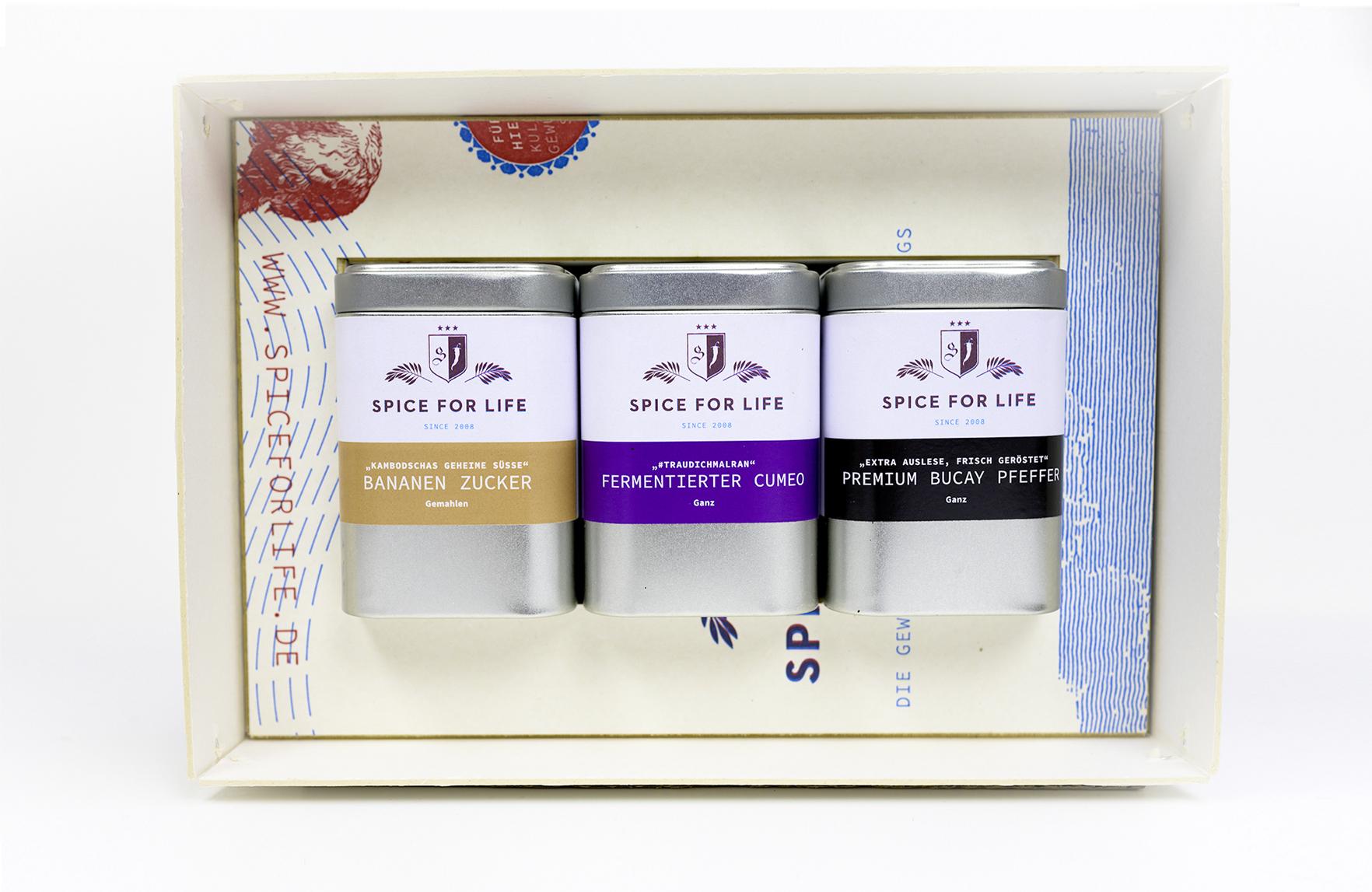 Spice for Life –die Gewürzjäger, ein neues Label