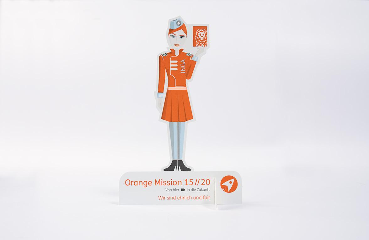 the Orange Mission. Ing Diba