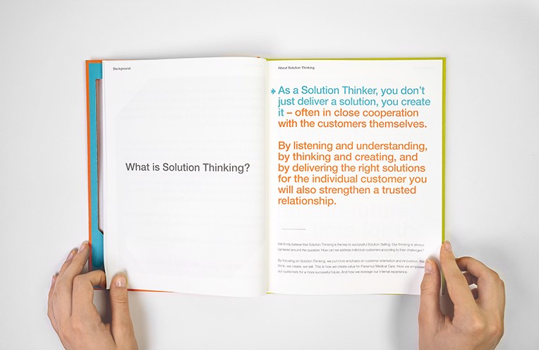 Fresenius Medical Care. become a solution thinker